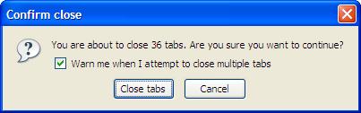 36 tabs