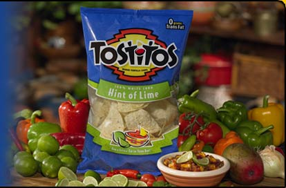 tostitos with hint of lime