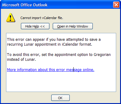 funny error messages. this error message onlinequot;