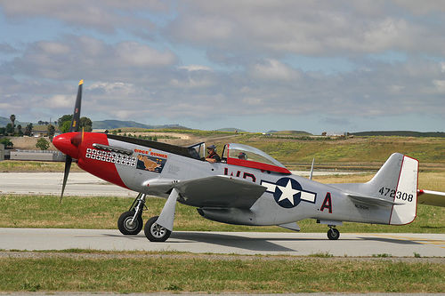 P-51 Mustang at Hollister